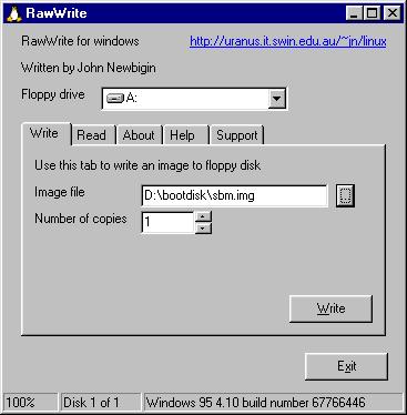 rawrite windows 7 x64
